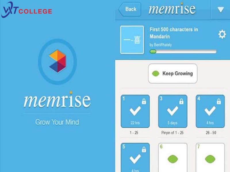Ap Memrise được nhiều người học tiếng Đức online yêu thích